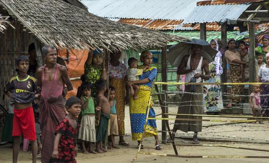 Rohingya Muslim villagers blockaded in Myanmar's Rakhine