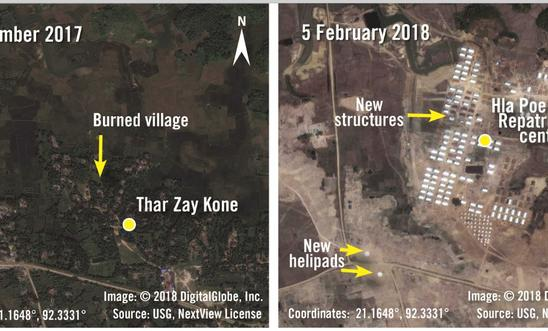 Next Step In Rohingya Ethnic Cleansing: Military Land Grab