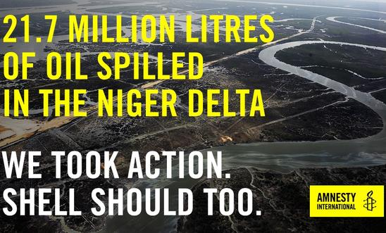 Shell and Eni mislead on many Nigeria oil spills, Amnesty International says