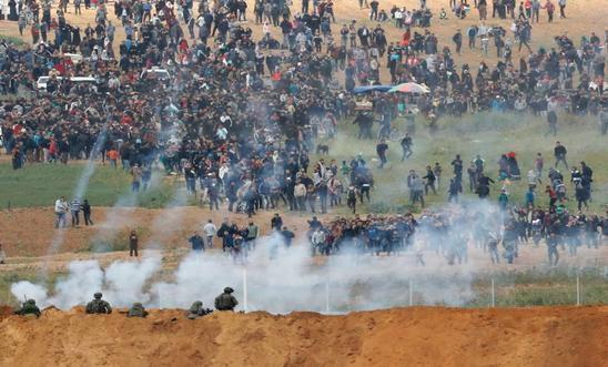Gaza shootings: 'another horrific example' of Israeli military using excessive force