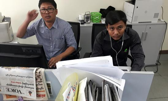 Burmese Reuters journalists lose appeal against seven year jail term